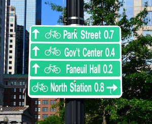 Bike Route Signs